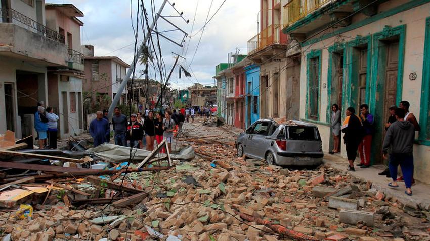 إعصار يضرب كوبا هو الأقوى منذ ما يقرب من 80 عاما