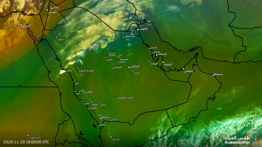Saudi Arabia | Thunderstorms condensed north of Al-Madinah Al-Munawwarah, the suburbs of Hail, and parts of the northern borders