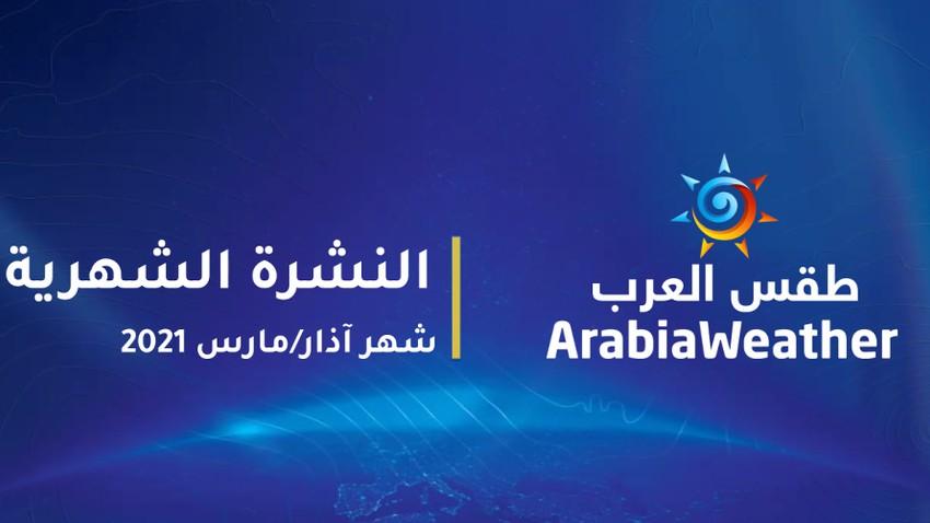 جوّك | بث من المنزل : توقعات شهر آذار 2021 في الأردن