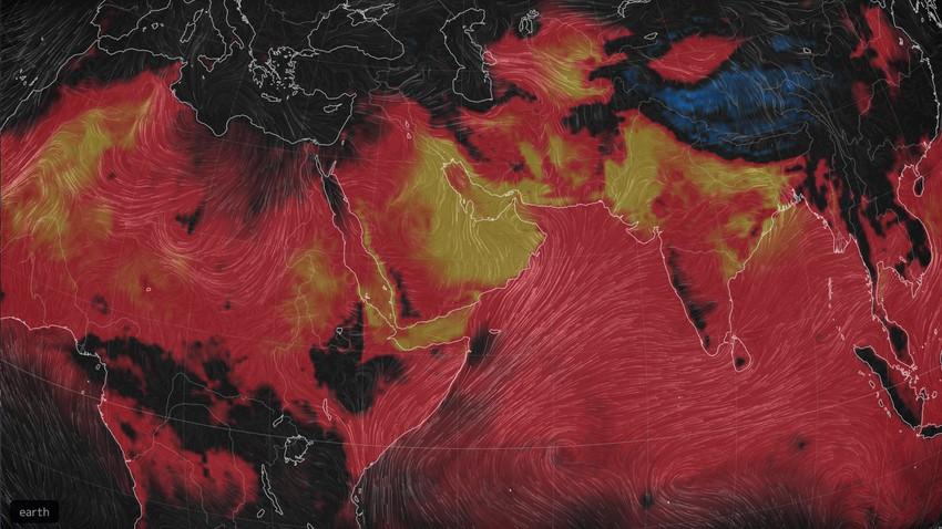 Avec la barre des 51 degrés, le Moyen-Orient enregistre des températures record