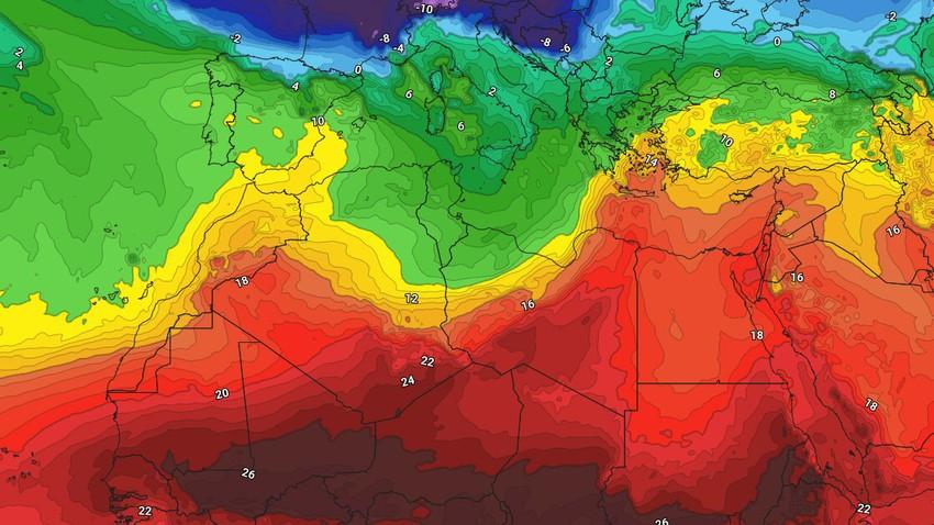 النشرة الأسبوعية - المغرب العربي | احوال جوية غير مستقرة على العديد من مناطق المغرب العربي