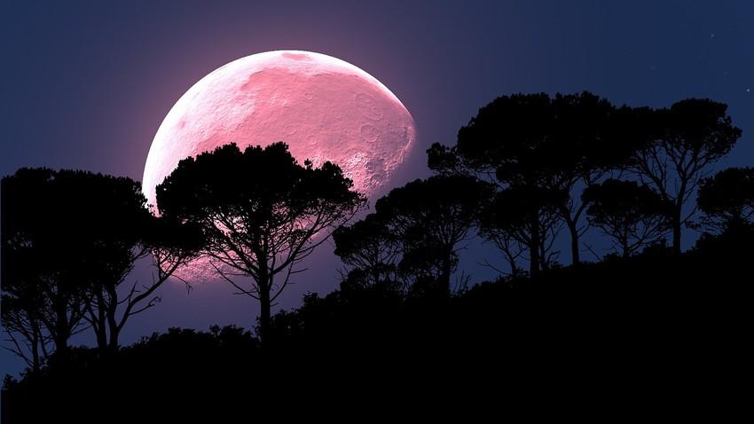 القمر العملاق الوردي..ما هو؟