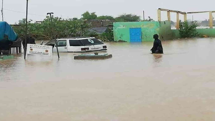 Severe floods in Mauritania, causing heavy material losses