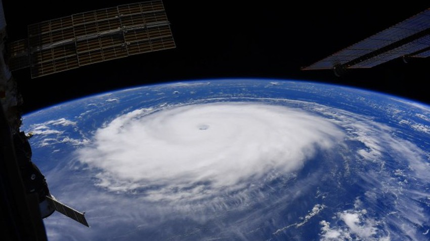 Pictures | Huge Hurricane Sam appears spectacularly from space