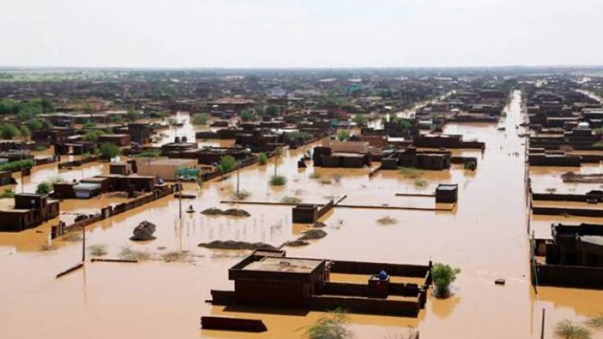 بالصور.. فيضانات السودان تخلف مئات القتلى وآلاف المشردين