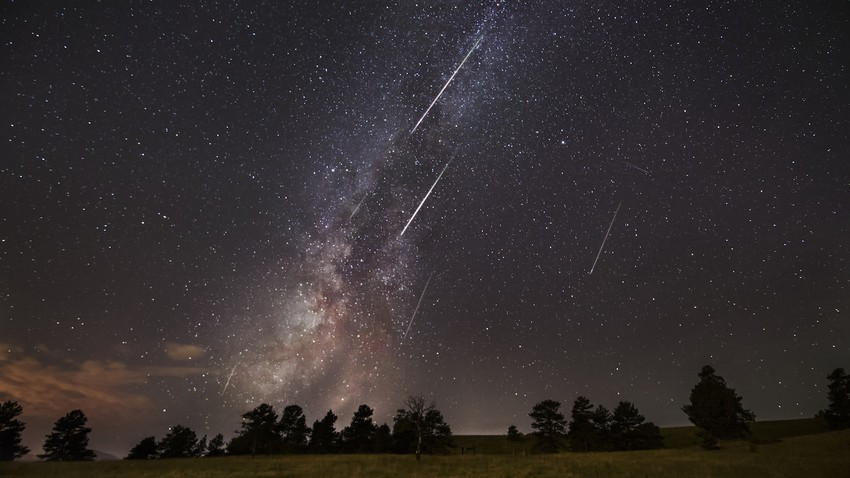 Al-Barshayat meteor showers..a bright celestial show that starts tonight and continues until August