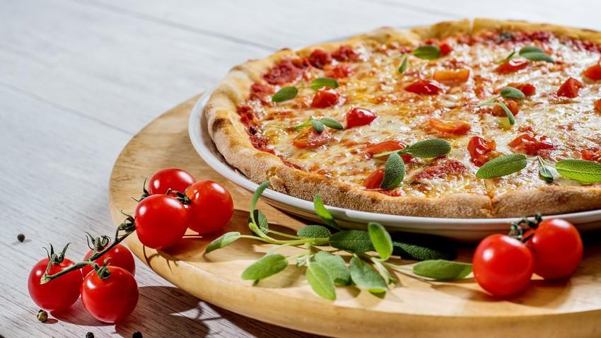طريقة عمل بيتزا نباتية