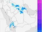 أمطار قادمة الى العاصمة الرياض بإذن الله و هذا موعدها المُتوقع