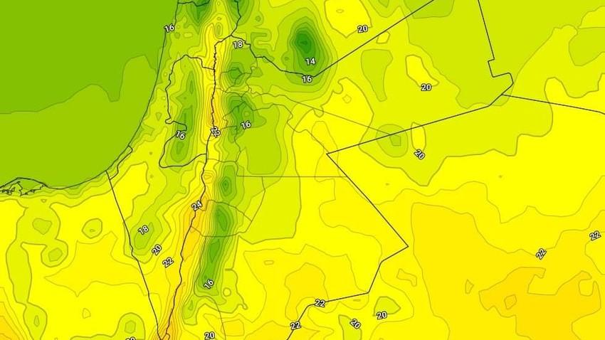 الجمعة | ارتفاع طفيف على درجات الحرارة وطقس مائل للبرودة