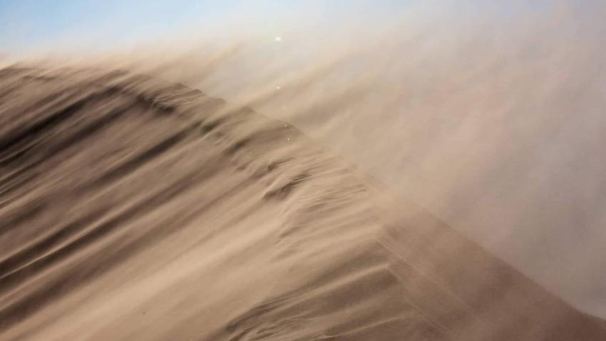 مصر | انخفاض طفيف على درجات الحرارة الإثنين مع نشاط في سرعة الرياح المُثيرة للأتربة
