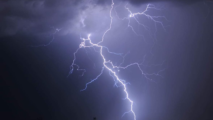 Yemen | Strong thunderstorms to affect the western highlands Monday