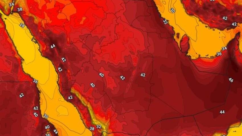 اليمن   حالة الطقس المُتوقعة الجمعة 18/6/2021