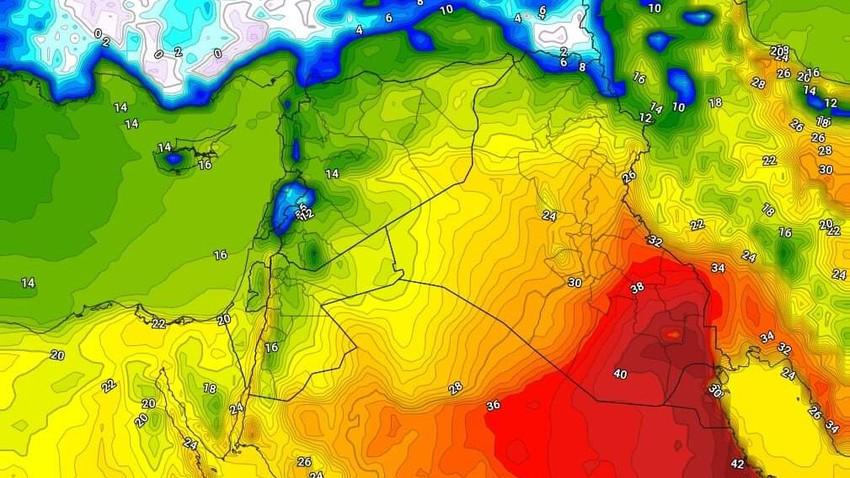 العراق | تراجع شدة حالة من عدم الاستقرار الأربعاء وبقاء الفرص قائمة لهطول الأمطار