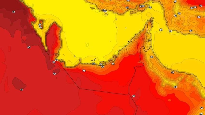 الإمارات | حالة الطقس المُتوقعة يوم الأربعاء 24/3/2021
