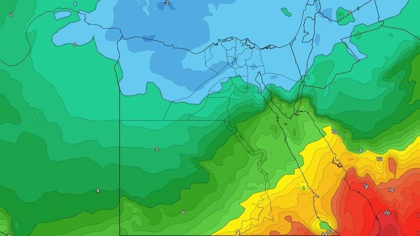 طقس مصر نهاية الأسبوع | انخفاض متتالي على درجات الحرارة وصقيع مُتوقع في بعض الأجزاء ليلاً