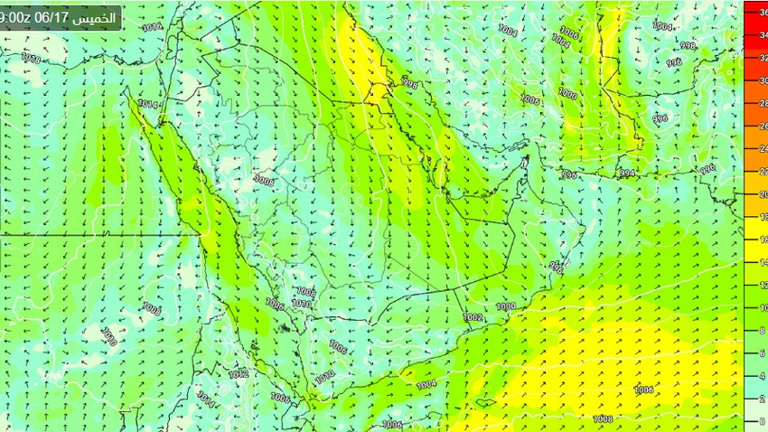Saudi Arabia | New dust waves on Thursday and Friday include these parts of the eastern region