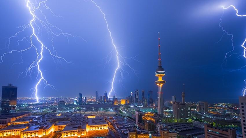 الكويت | التقلبات الجوية وفرص الأمطار مستمرة حتى الأحد