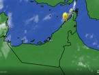 UAE - 2:50 am | Thunder clouds approaching the northern coasts and may affect Ajman and Sharjah in the next hour