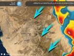 تحت المراقبة - 6:05م | حزام من السحب الرعدية يتحرك نحو مكة والطائف