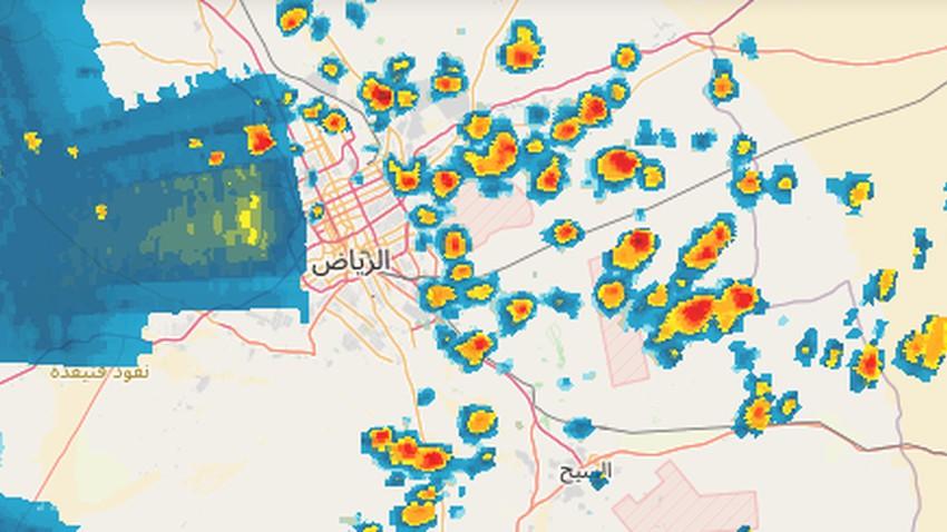 Riyad - 14h15 | Perturbations météorologiques et orages attendus dans la prochaine heure