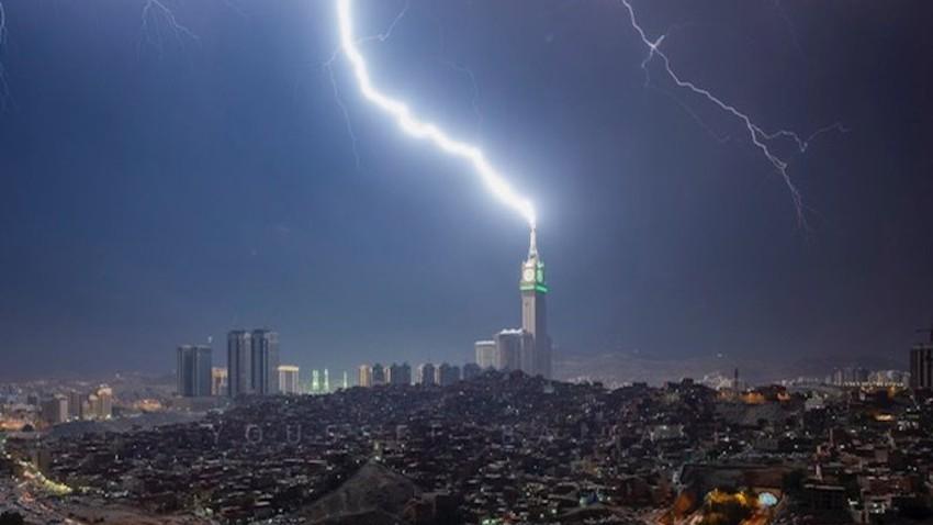 مكة المكرمة | ارتفاع فرص الأمطار الرعدية بشدة تصاعدية اعتباراً من الاثنين .. تفاصيل