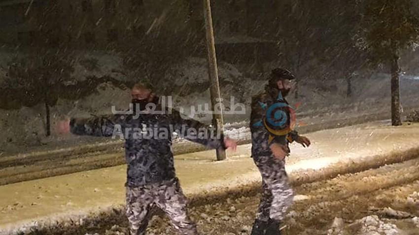 حالة الطرق الساعة 9:00 صباحًا | ما تزال الطرق الرئيسية في شمال المملكة مغلقة او سالكة بحذر بسبب التراكمات الثلجية