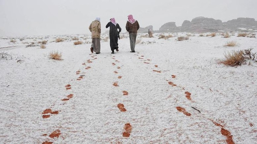 Saudi destinations and cities for lovers of cold weather in winter