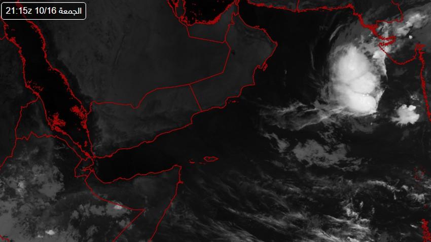 السعودية | الهيئة العامة للأرصاد وحماية البيئة تصدر تقريرها حول الحالة المدارية في بحر العرب