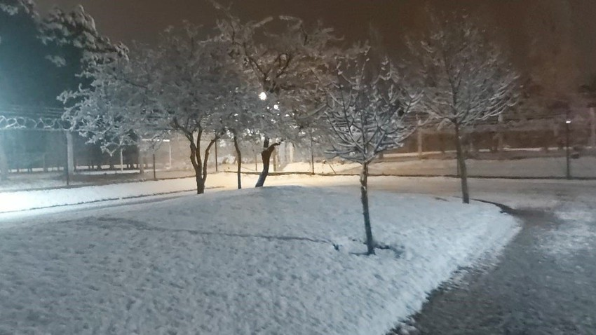 الثلوج تغطي مدينة في الأرجنتين لأول مرة منذ 14 سنة