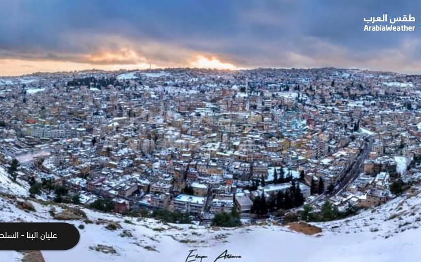 بالصور | مندوبو طقس العرب يلتقطون أجمل مشاهد الثلوج في مختلف محافظات الأردن