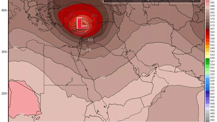 A distinct air depression visiting the country on Wednesday and Thursday
