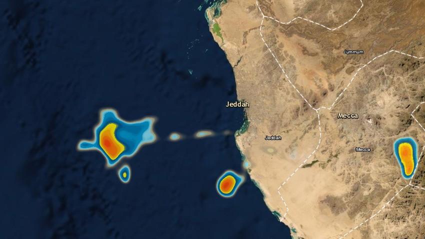 تحديث 2:46م | سُحب رعدية ماطرة قبالة سواحل جدة الآن .. وفرص الأمطار تتزايد الساعات القادمة