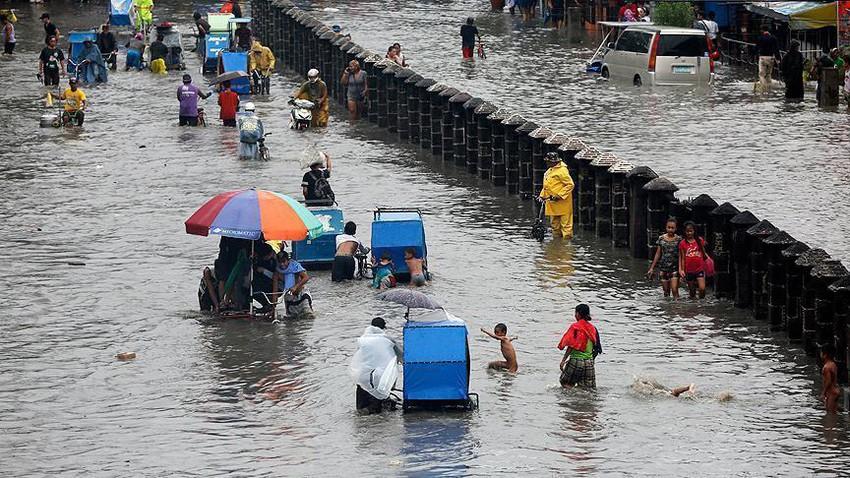 الفلبين   282 ملم من الأمطار خلال 24 ساعة!