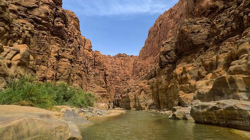 Wadi Mujib..une merveille naturelle avec la réserve naturelle la plus basse du monde