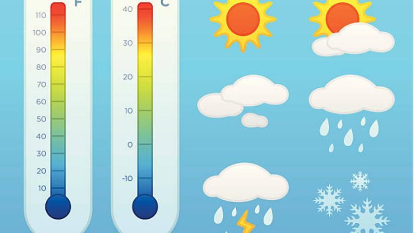 ما الفرق بين درجة الحرارة المسجلة والملموسة؟