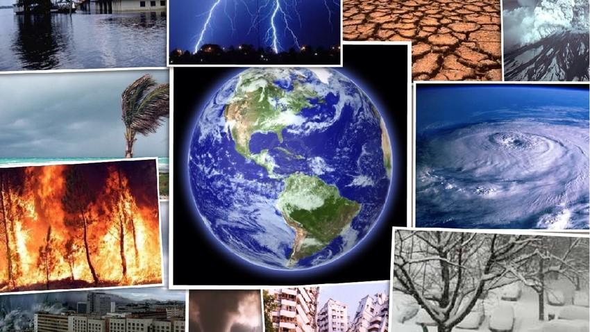 احداث طقس عالمية