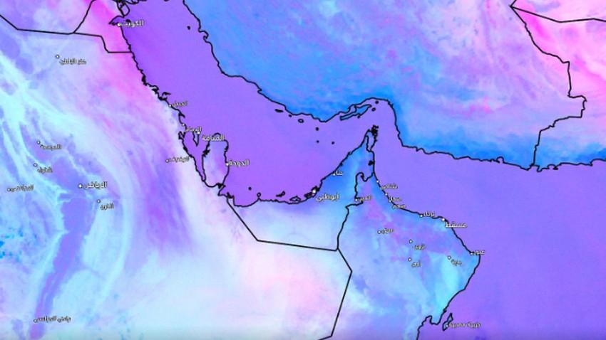 Mise à jour 11h00 | Des vagues denses de poussière ont commencé à se former en Arabie saoudite et au Koweït, et c'est ce à quoi nous nous attendons pour les prochaines heures