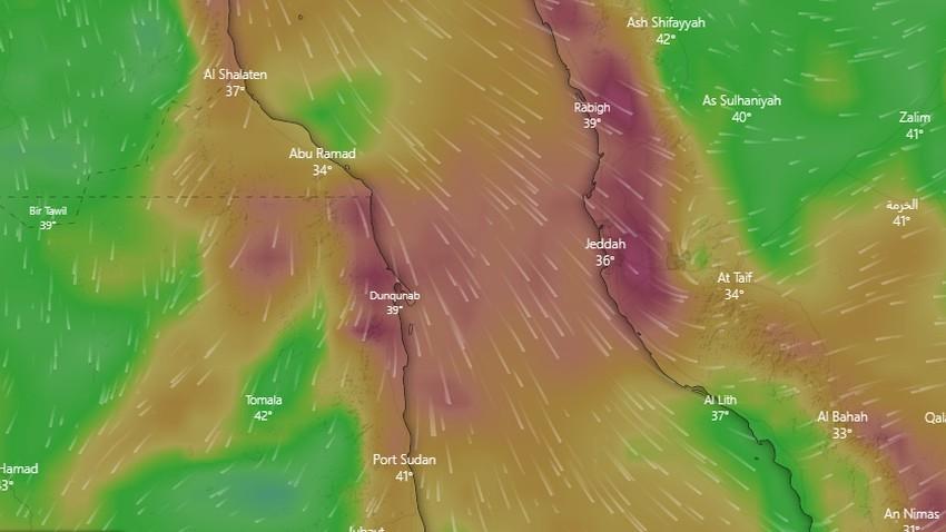جدة | ارتفاع فرص الغبار غداً وتنبيه للمسافرين ما بين جدة ومكة المكرمة من تدني الرؤية الأفقية