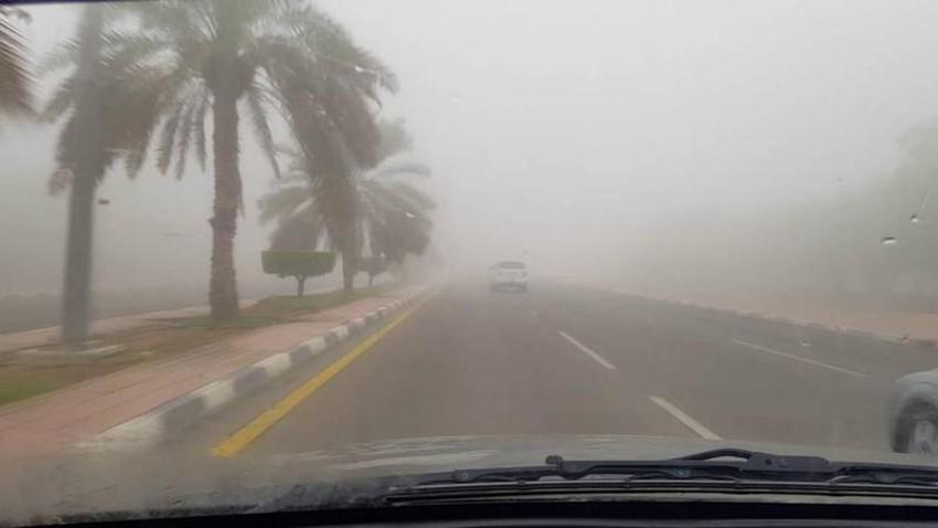 السعودية | تنبيه من الضباب الكثيف أحياناً في الشرقية وحفر الباطن والحدود الشمالية وأجزاء من الجوف