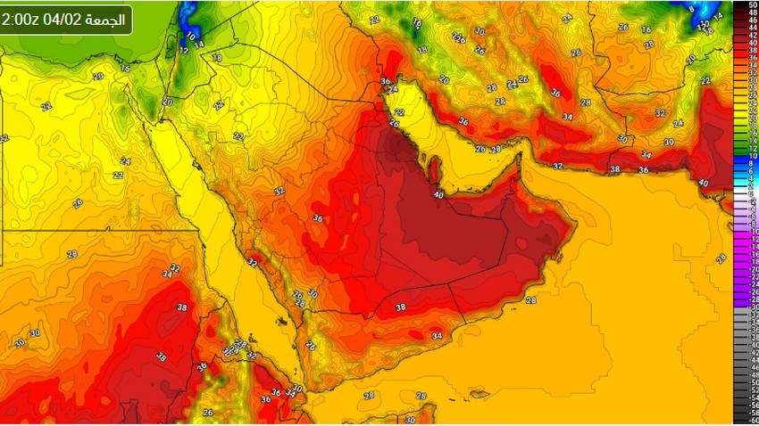 الرياض | ارتفاع تدريجي على الحرارة يبلغ ذروته يوم الجمعة