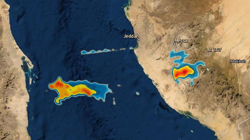 تحديث 4:10م | هل ستؤثر السُحب الرعدية المتواجدة قبالة سواحل جدة على المدينة خلال الساعات القادمة؟