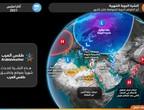 النشرة الشهرية | بداية باردة في بعض المناطق .. وتحسن فرص الامطار في النصف الثاني من مارس وخاصة في موسم المراويح