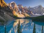 شاهد أسرار ألبرتا الكندية.. بحيرة مورين