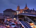 بالصور: مدينة لوزان السويسرية لوحة من الطبيعة