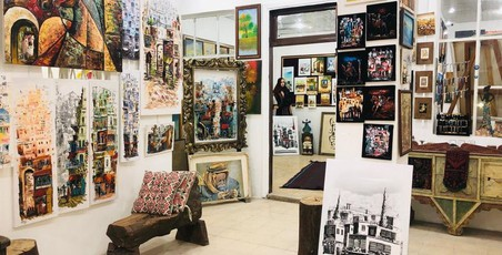 Amman panorama art gallery