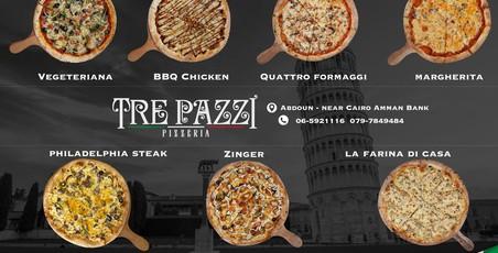 Tre Pazzi-Pizzeria